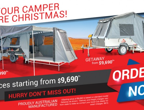 GET YOUR CAMPER BEFORE CHRISTMAS!
